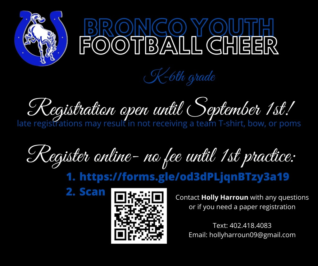 Youth Cheer Info
